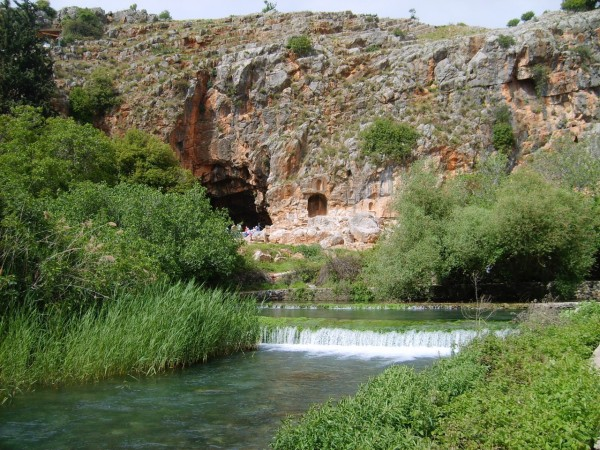 The Cave of Pan at Banias