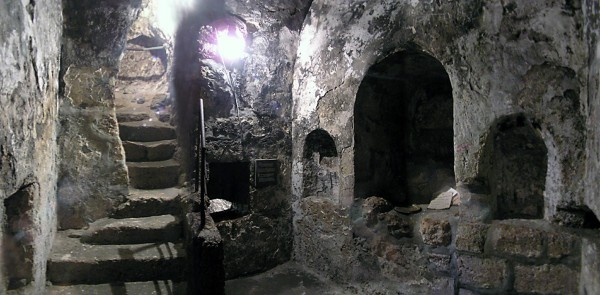 The Tomb of Lazarus in Bethany