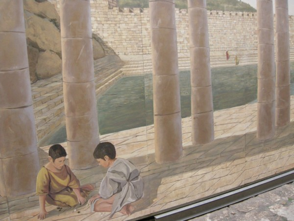 Artist's Reconstruction of the Pool of Siloam