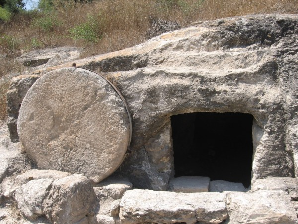 A Rolling Rock Tomb