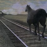 Horse and Train: How a Photorealist Portrays Angels (The Art of Alex Colville, Part 2)